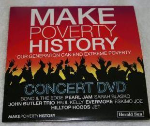 DVD Make Poverty History