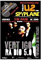 U2 'A Celebration Tour 2010' Spyplane Manises 9 Julio 2010
