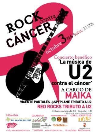 La Música de U2 contra el Cáncer