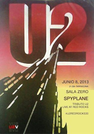 U2 Live at Red Rocks - Spyplane Live From Tarragona