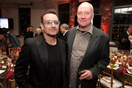 Bono y Sean Scully