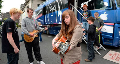 Music Generation y el Lennon Bus
