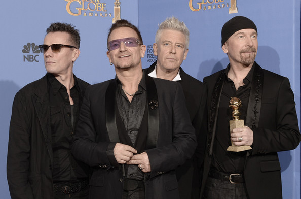 U2 gana el Globo de Oro con Ordinary Love