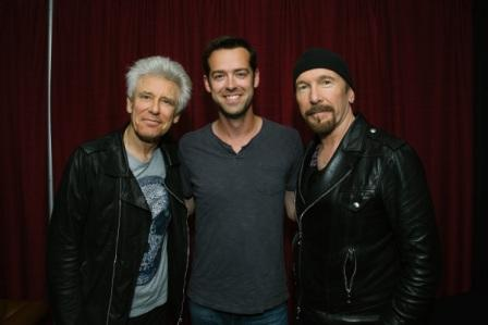 Adam Clayton, Kyle y The Edge