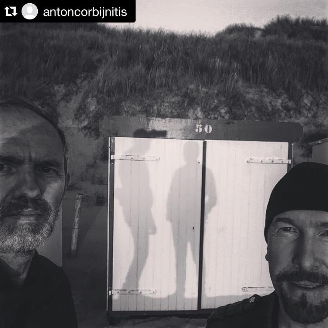 Anton Corbijn y The Edge